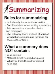 Main Idea Chart Examples Copy Of Main Idea Summarizing And Paraphrasing Lessons