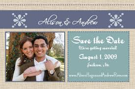 Diy Save The Date Cards Entertaining Life