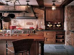 Rustic Kitchen Furniture Rustic Kitchen Furniture A Rustic Country Kitchen With A Splash