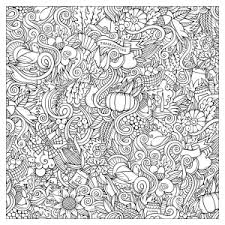 Small Picture Thanksgiving Coloring pages for adults JustColor