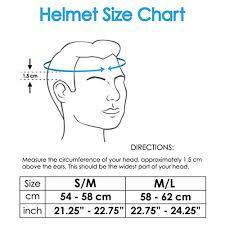 Bike Helmet Size Chart How To Measure Helmet Size Bike Tripodmarket Com