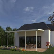 patio cover. Heritage Patios 12 Ft. W X 14 D Ivory Aluminum Patio Cover ( Patio Cover S