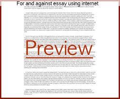 example of essay style english speech