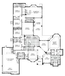5 bedroom house blueprints floor plans 1 story home with 5 bedrooms 4 bathrooms and 5 5 bedroom house blueprints
