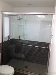 semi frameless sliding shower doors. 068 semi-framed shower door - woodstock, ga semi frameless sliding doors t