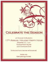 Corporate Holiday Party Invite Corporate Christmas Party Invitations Business Party
