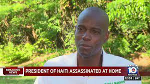 Haitian President Jovenel Moïse ...