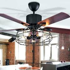 cage fan light industrial ceiling fans with lights also ceiling stunning industrial ceiling fan with light