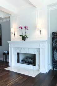 marble fireplace design idea