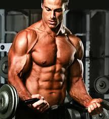 Dieet bodybuilding man