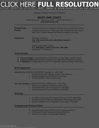 Resume Sample Templates Resume Template