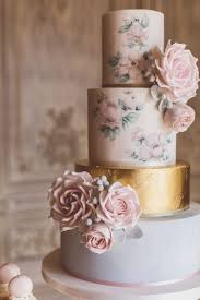 The Biggest Wedding Cake Trends For 2018 торты Painted Wedding