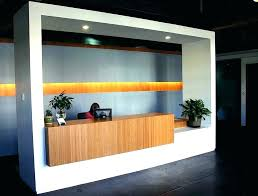 receptionist desk design reception ideas awesome designs best in office front16 office