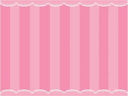 Cute Pink Curtain Powerpoint Templates Objects Free Ppt