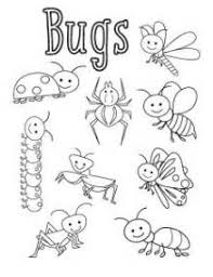 Small Picture Free Printable Bug Coloring Pages For Kids bug coloring sheet