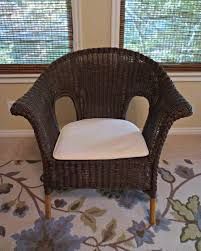 painted wicker furniturePainted Wicker Chair DIY Makeover  Salt Lick Lessons