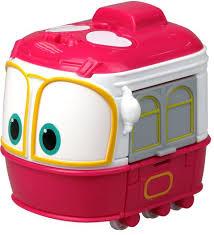Игрушка-<b>трансформер</b> Silverlit <b>Robot Trains Сэлли</b> 10 см