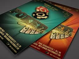 4 X 6 Flyer Template Poker Night Flyer Template 4 X 6 By Alex Lasek Dribbble Dribbble