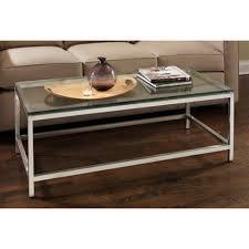 tag soho stainless glass top coffee table tag12180 the home depot