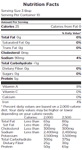 egg beaters original nutrition facts