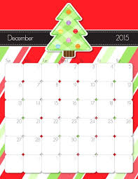 Dec 2015 Calendar Template Free 2015 Monthly Calendar Template
