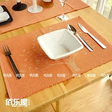 dining table mats cotton coasters fashion dining table mat cloth heat insulation pad bowl pad wishing