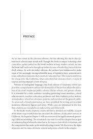 Start Reading California School Law Frank Kemerer And Peter Sansom Adorable Resume Preface