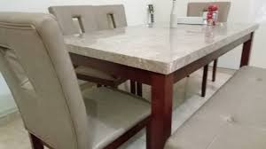 Stone Top Dining Table For Sale Qatar Living Granite Top Kitchen