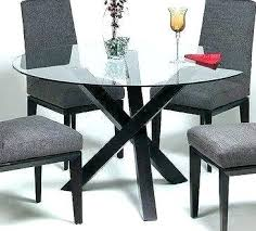circle glass table circle glass table round glass dining table best glass top dining table ideas