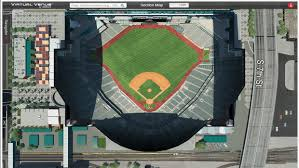 Chase Field Az Seating Chart Arizona Diamondbacks Virtual Venue By Iomedia