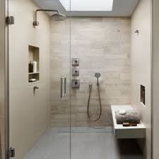 modern bathroom remodels. Inspiration For A Modern Beige Tile And Porcelain Floor Gray Bathroom Remodel Remodels