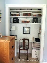 office closet storage. Office In Closet Large Size Of Storage Ideas Home A .