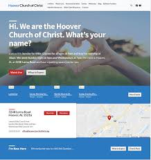 Web Designs For Churches Hoover Church Of Christ Wb Web Designs