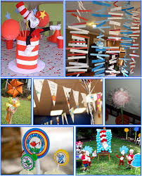 Dr Seuss Party Decorations One Fish Two Fish Red Fish Blue Fish Eventful Possibilities