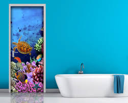 Porta per bagno : Bagno u2013 interni & decori adesivi murali wall stickers e quadri