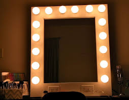 diy hollywood vanity mirror with lights. best 25+ mirror with light bulbs ideas on pinterest | hollywood lighted vanity mirror, lights and makeup diy t