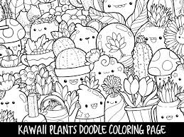 Kawaii Food Coloring Pages Cute Kawaii Coloring Pages Download Page