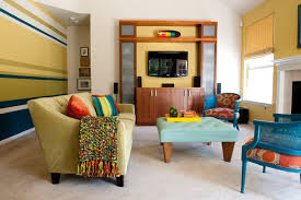 colorful modern living rooms. colorful modern living room contemporary-living-room rooms