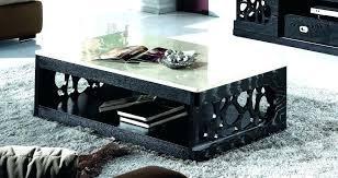 black coffee table and end table sets marble coffee table set cool modern black marble coffee