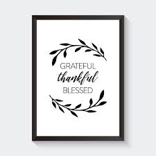 grateful thankful blessed words to live by ikea wall frame wall art wall decor souq uae