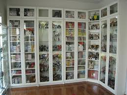 billy bookcases from ikea with height extensions and glass doors for bookcase ikea decor 7