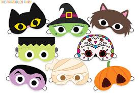 Our printable masks include thirteen animals—bears, bunnies, cats, dogs, elephants, foxes, goats, lions, monkeys, mice, owls, pandas, and tigers. Printable Halloween Masks For Kids The Printables Fairy