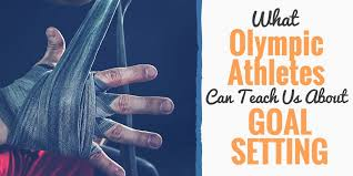 Swim Goals Chart Goal Setting Activities Of Olympians And What They Teach Us
