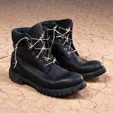 Custom Design Timberland Boots Deep Black Timberland Boots