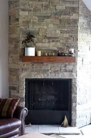 awesome fireplace mantel design with beige stone cool living room ideas fabulous stacked surrounds ledge installed over enchanting man