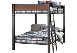 bunk bed with slide and desk. Louie Gray Full/Full Bunk Bed Bunk Bed With Slide And Desk T