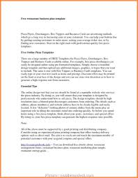 Free Online Business Plan Template 4 Top Business Plan Template Free Online Solutions Usa Headlines