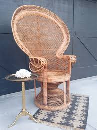1970s large rattan pea chair by wearelottery on 350 00