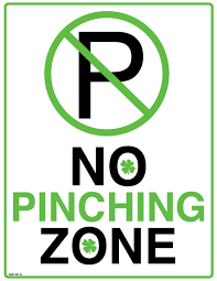 Image result for no pinching