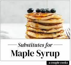 best maple syrup subsute a couple